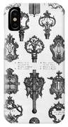 Cuvilli�s: Locks And Keys IPhone Case