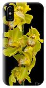 Cymbidium - Boat Orchid IPhone Case