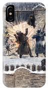 Czars Assassination, 1881 IPhone Case