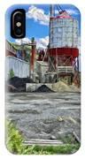 D And Rg Rail Yard In Salida Co IPhone Case