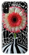 Daisy And Graphic Vase IPhone Case