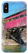 Damaged Covered Bridge IPhone Case