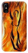 Dancing Fire V IPhone Case