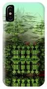 Dancing Trees On Alien Cliffs IPhone Case
