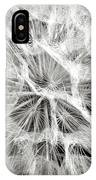 Dandelion In Black And White IPhone X Case