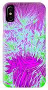 Dandilion Colorized I IPhone Case