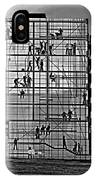 Danish Mural Monochrome IPhone Case