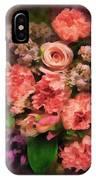 Dark Bouquet IPhone Case