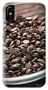 Dark Chocolate Chips IPhone Case