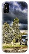 Dark Clouds Over The Farm IPhone Case