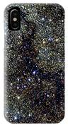 Dark Nebula, G11.11-0.12, Infrared Image IPhone Case