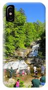 Day At Kent Falls State Park IPhone Case