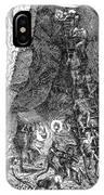De Bry: Potosi, 1590 IPhone Case