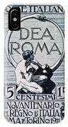 Dea Roma IPhone Case