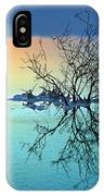 Dead Sea - Withered Bush At Dawn IPhone Case