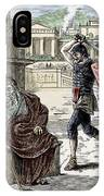 Death Of Archimedes In Sack Of Syracuse IPhone Case