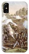 Death Of N. Lyon, 1861 IPhone Case