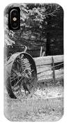 Decaying Wagon Black And White IPhone Case