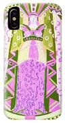 Deco Ladies Frostwork And Iris IPhone Case