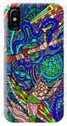 Deep Blue Surfing IPhone Case