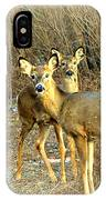 Deer Duo IPhone Case