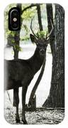 Deer In The Woods IPhone Case