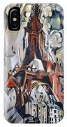 Delaunay: Eiffel Tower, 1910 IPhone Case