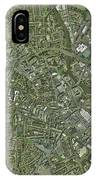 Derby, Uk, Aerial Image IPhone Case