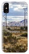Desert Blue IPhone Case