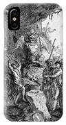 Destruction Of Idols, C1750 IPhone Case