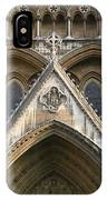Detail Of Westminster Abbey IPhone Case