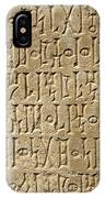 Details Of Sabaean Inscriptions At The IPhone Case