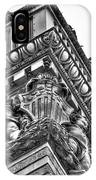 Details Of The Ellicott Buildings Roof IPhone Case