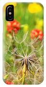 Determined Dandelion IPhone Case