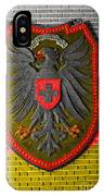 Deutsch Weimarer Shield IPhone Case