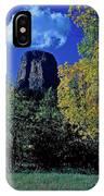 Devil's Tower Autumn IPhone Case