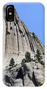 Devil's Tower Full View IPhone Case