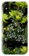 Dew Spheres IPhone Case