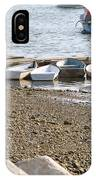 Dinghies At Green Harbor IPhone Case