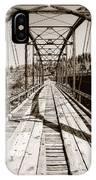Discarded Bridges IPhone Case