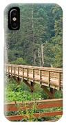 Discovery Trail Bridge IPhone Case