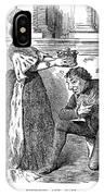 Disraeli Cartoon, 1876 IPhone Case