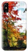 Distant Mill  In Autumn IPhone Case
