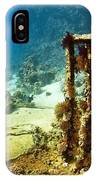 Diver Taking Photographs Underwater IPhone Case