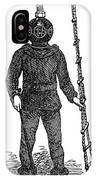 Diving Suit, 1855 IPhone Case