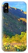 Dog Canyon Nm Oliver Lee Memorial State Park IPhone Case