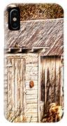 Dogs Back At The Cabin IPhone Case
