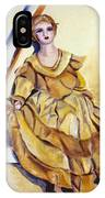 Doll On Canvases  IPhone Case
