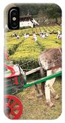 Donkey And Tea Gardens IPhone Case