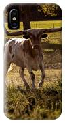 Don't Mess With Texas ..... Long Horns That Is  IPhone X Case